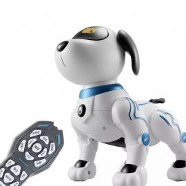 Electronic Animal Pets RC Robot Dog Voice Remote Control Toys