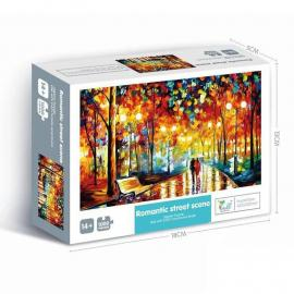 Mini Puzzle 1000 Pieces Game Landscape Picture Jigsaw Puzzles For Adult & Children Kids Adulto Gift