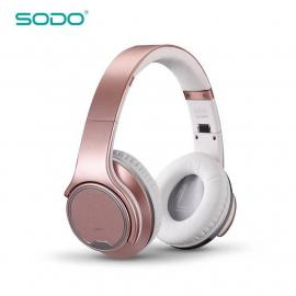 Original SODO MH1 NFC Wireless Bluetooth Headphone Twist-out a Mini Speaker wireless Headset with microphone for Mobile phones